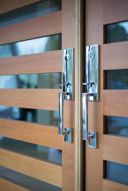Custom fir front door