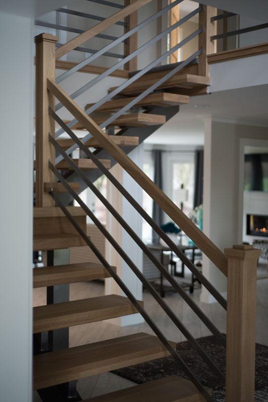 Unique stairway